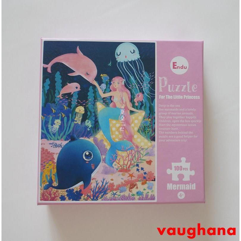 bộ đồ chơi mô hình nàng tiên cá xinh xắn dành cho trẻ