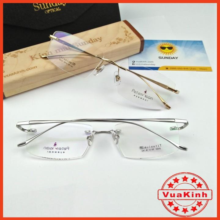 Sản phẩm Gọng kính cận titanium piterson TT10-ZON