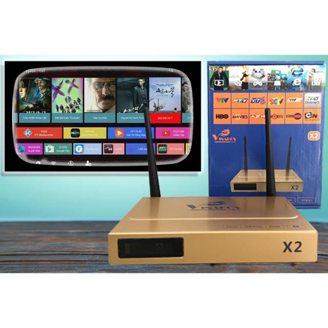 [SALE 10%] Android TV Box Vinabox X2 Ram 1GB