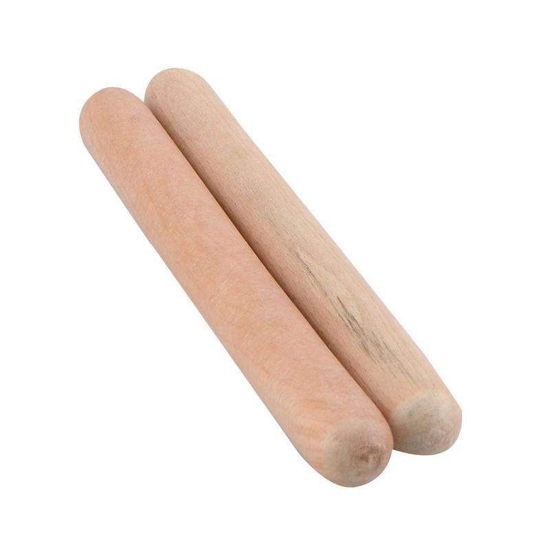 1 Pair Children Wooden Musical Instrument Percussion Rhythm Sticks Drumsticks