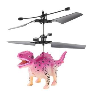 BOBORA Novelty Remote Control Sensor Hover Dinosaur Helicopter Flying Animal Mini RC Drone Toys