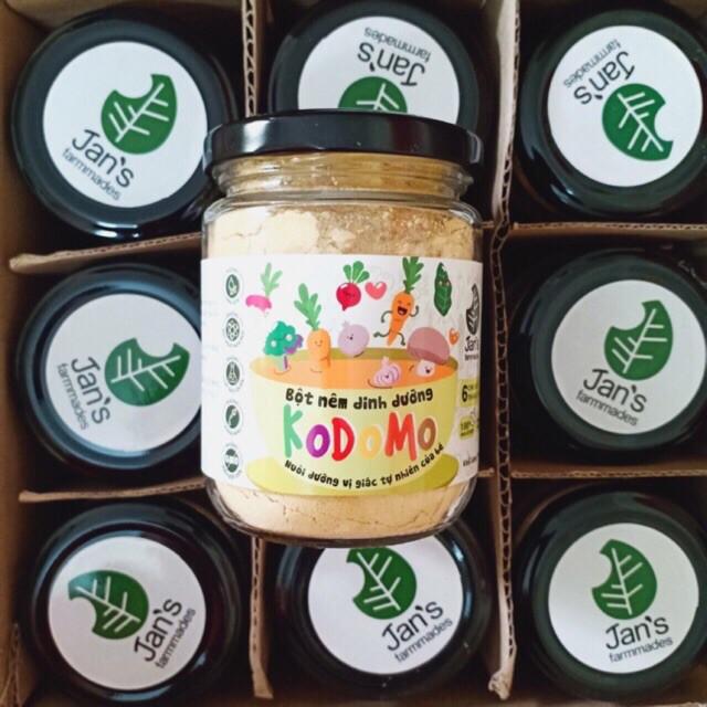 Bột nêm rau củ dinh dưỡng KODOMO - Gia vị cho bé ăn dặm từ 6 tháng tuổi (Hủ 90g) | Shopee Việt Nam