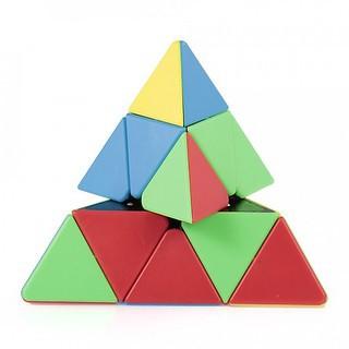 Rubik Biến Thể Pyraminx - Rubik Tam Giác 3x3 Cao Cấp Viền Đen, Xoay trơn, Cực Mượt - Ảnh, Video thật sản phẩm thumbnail