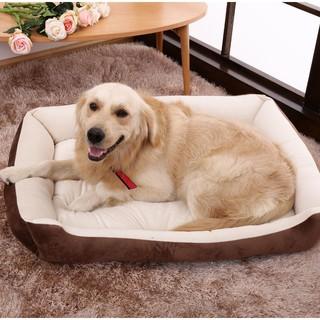 Hình chữ nhật Giường ngủ cho chó Túi ngủ Cũi cho mèo Cún con Sofa Giường cho thú cưng Ngôi nhà ấm áp Mùa đông Giường đệm thumbnail