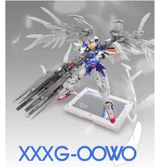 Mô hình Gundam Model Heart Super Nova MG 1/100 Wing Zero XXXG-OOWO Custom !