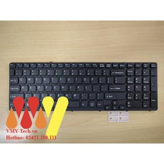 Bàn phím laptop Sony Vaio SVE-15 SVE15 SVE15115YCB SVE15115YCP SVE151D11L SVE151D11M 149091911ES MỚI 100% thumbnail