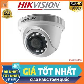 Camera HDTVI Dome 2MP Full HD HIKVISION DS-2CE56B2-IPF