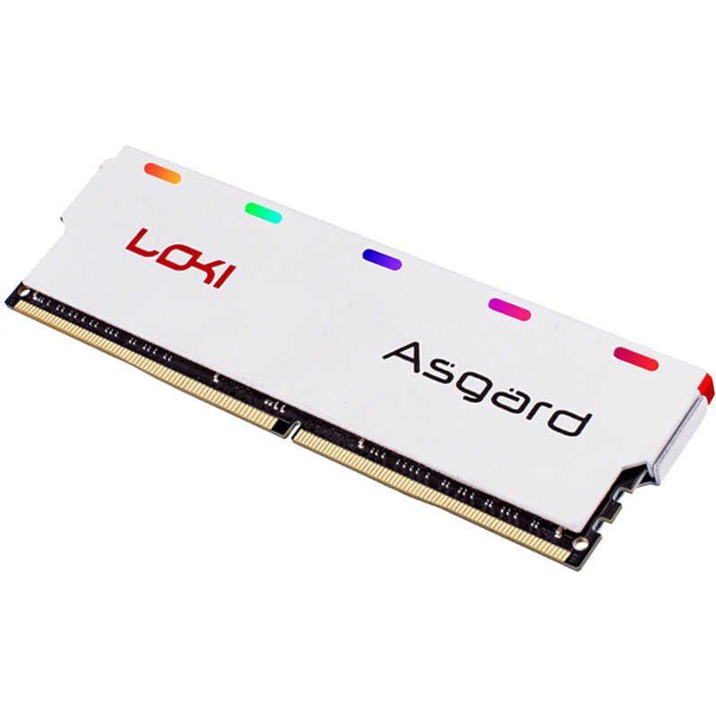 Ram Asgard Loki 8gb Buss 2666MHz leb RGB Giá chỉ 990.000₫