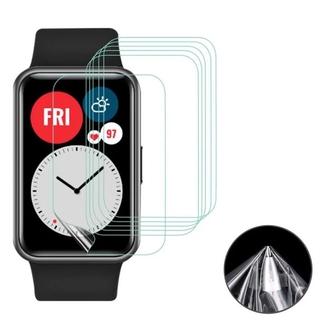 Set 5 Miếng Dán Tpu Bảo Vệ Màn Hình Cho Đồng Hồ Thông Minh Huawei Watch Fit / Honor Smart Watch Es
