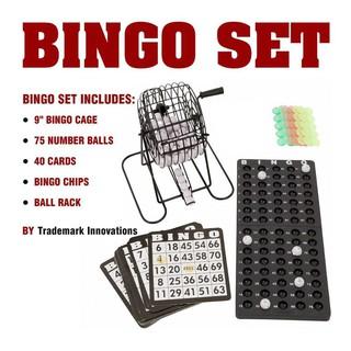 bộ đò chơi bingo lồng sắt