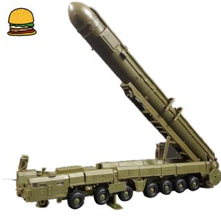 1:72 RT-2PM Russian Poplar Intercontinental Missile Accessory Assembly Model for RS-12M Missile