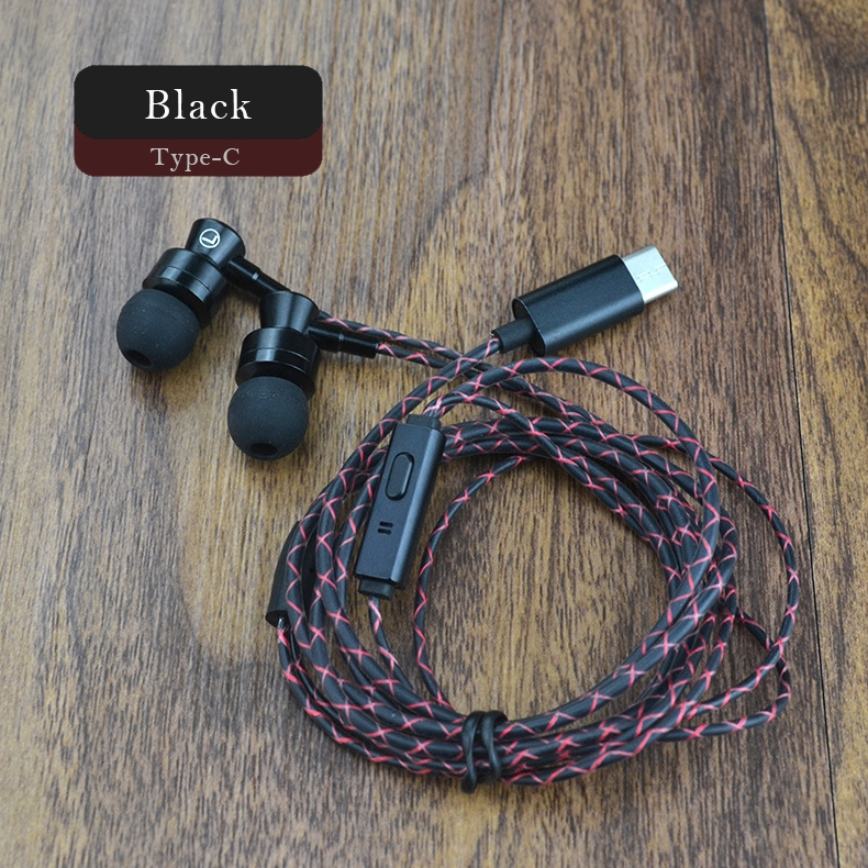 Tai nghe nhét tai cổng USB type C có mic