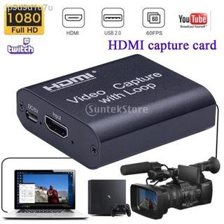 Thẻ capture hình ảnh cho máy quay phim máy PS4 chuyển thẻ USB sang HDMI trực tiếp thumbnail