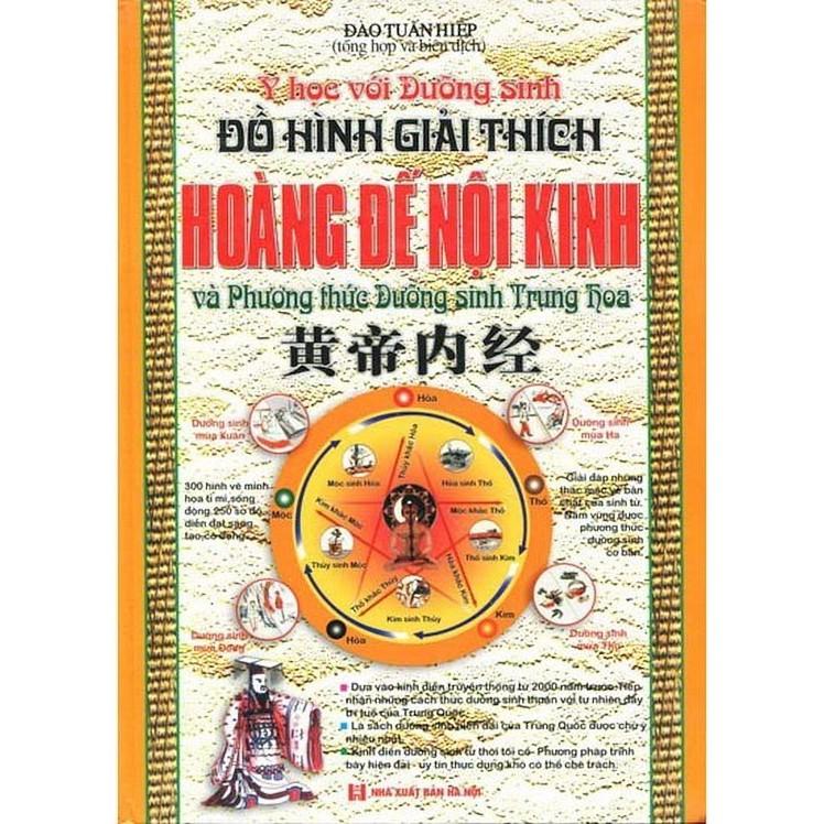Sách: Đồ hình giải thích Hoàng đế nội kinh và phương thức dưỡng sinh Trung Hoa