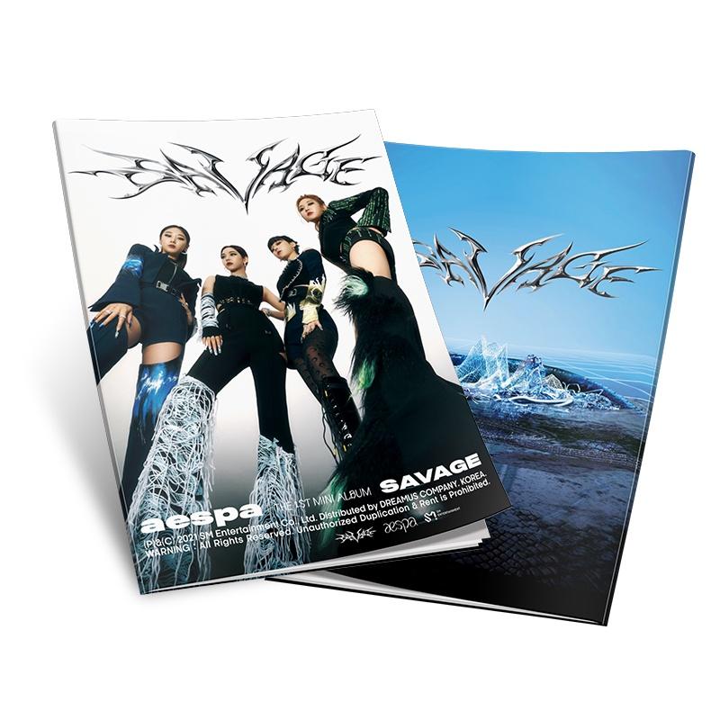 Album ảnh mini hình nhóm nhạc Kpop Aespa