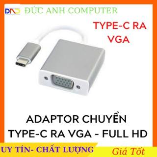 Cáp Chuyển Type-C Ra Vga, Type-c To Vga- Full HD