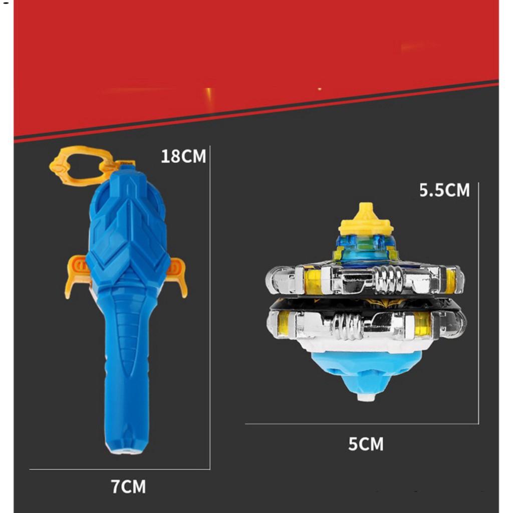 Con quay đồ chơi trẻ em Đại Chiến Vô Cực Infinity Nado 5 Thần Phong Giáp Chiến bằng hợp kim nhựa cao cấp hãng Auldey
