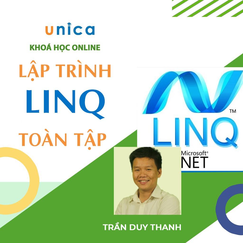 Toàn quốc- [E-voucher] FULL khóa học CNTT - Lập trình LinQ toàn tập -GV Trần Duy Thanh