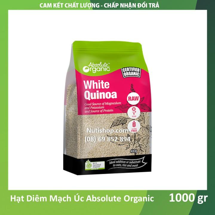 Hạt Diêm Mạch Úc Quinoa Absolute Organic 1kg Hạt Diêm Mạch Úc Quinoa Absolute Organic 1kg