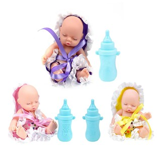 ❀pgs❀Cute Vinyl Simulation Pocket Sleeping Dolls Transparent Ball Toys Baby Gift❀❀