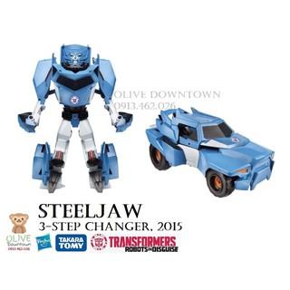 STEELJAW 20cm 3 bước chuyển đổi thành xe jeep địa hình – TRANSFORMER Robot-In-Disguise