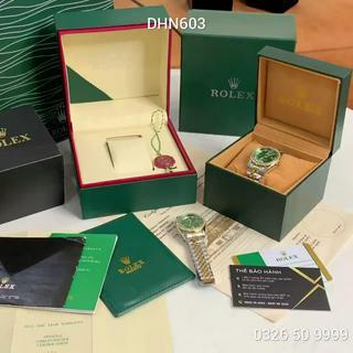 [fullbox + bảo hành 12th] Đồng hồ nữ Ro - mặt tròn viền đá sang trọng - bảo hành 12th phukienvip62