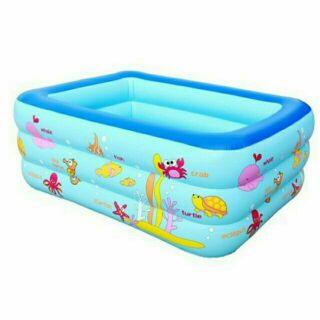 Bể bơi 3 tầng 1m5 (150×110×55)