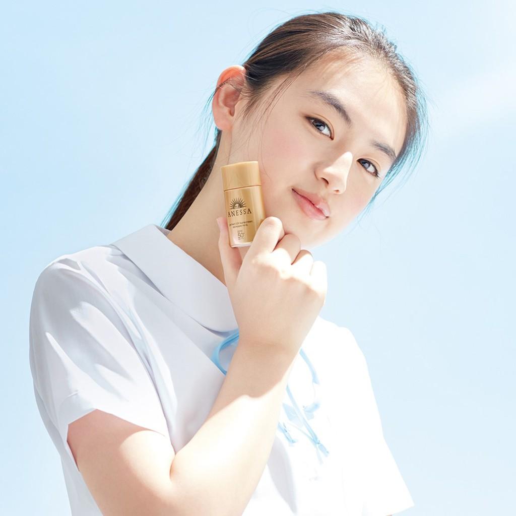 Hình ảnh [Phiên bản giới hạn]Sữa chống nắng bảo vệ hoàn hảo Anessa Perfect UV Sunscreen Skincare Milk 20ml-5