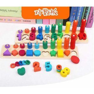 Bảng Học Toán Montessori 5.0 vừa hoc vừa chơi cho bé