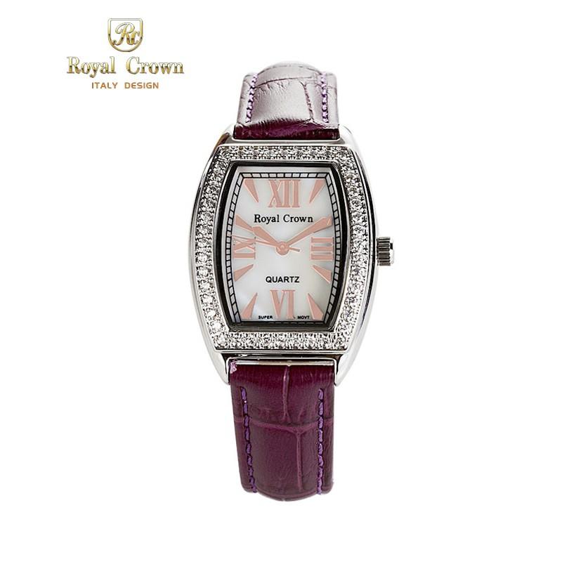 Đồng hồ nữ chính hãng Royal Crown 3635 dây da tím - 2936622 , 418206553 , 322_418206553 , 2899000 , Dong-ho-nu-chinh-hang-Royal-Crown-3635-day-da-tim-322_418206553 , shopee.vn , Đồng hồ nữ chính hãng Royal Crown 3635 dây da tím