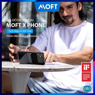 Giá Đỡ Điện Thoại Moft X Phone Stand Đa Năng Siêu Mỏng – Có Khe Đựng Thẻ Siêu Tiện Lợi