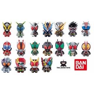 Mô hình Chibi Trưng bàn Kamen Rider Collection Chara Chính hãng (Bandai)