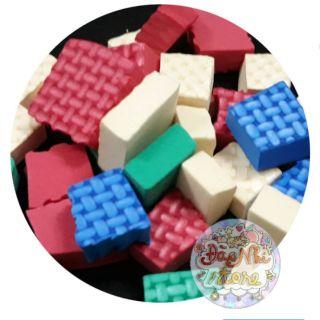 Gần 30 viên wafer cube/Wafer cube/slime/tuyết nhân tạo/xốp