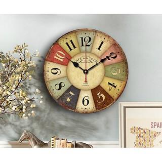 [Hàng loại 1] Đồng hồ treo tường phong cách cổ điển cỡ lớn