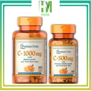 Vitamin C Puritan's Pride, Viên Bổ Sung Vitamin C 1000mg 100 viên
