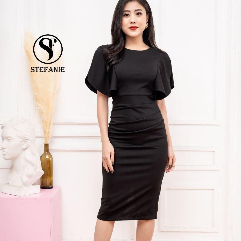Đầm Body - Váy Công Sở form chuẩn ,thiết kế gọn người - che bụng hack dáng cho chị em Stefanie