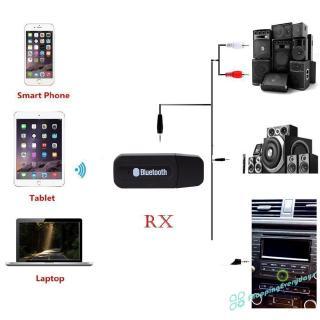 Usb Nhận Tín Hiệu Âm Thanh Bluetooth 3.5mm