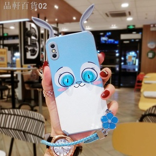 ☢ Ốp điện thoại họa tiết tai thỏ xinh xắn dành cho Apple x 2021 xr Case xsmax iPhone6