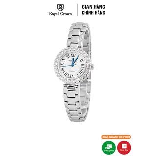 Đồng hồ nữ chính hãng Royal Crown 6305 Stainless Steel Watch thumbnail