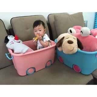 Combo 3 Thùng đựng đồ chơi tiện dụng cho bé (Size to)