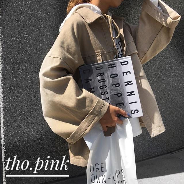 áo khoác tay rộng - order- ulzzang