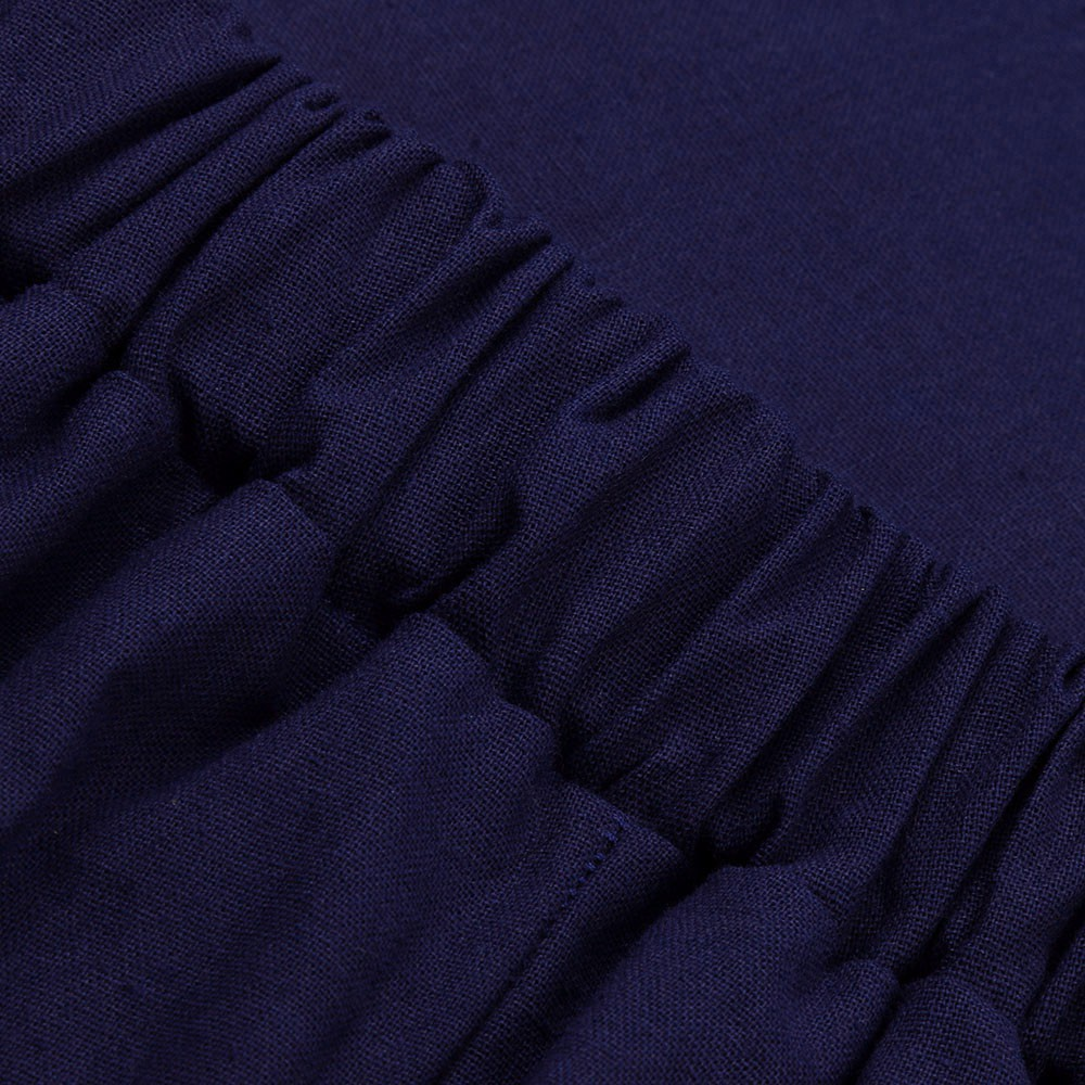 Sale 70% Chân Váy Maxi Lưng Cao Phối Nút Thiết Kế Dáng Chữ A Thanh Lịch, Black  M Giá gốc 287,000 đ - 77B148