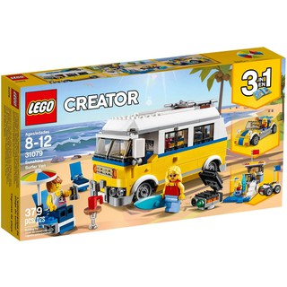 LEGO Creator 31079 – Xếp Hình Xe Tải Cắm Trại – Xe Hơi – Nhà Cứu Hộ 3-Trong-1