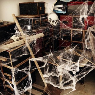 Tơ nhện dùng trang trí HALLOWEEN