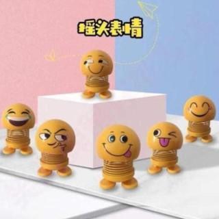 [Order] QA Quảng châu Emoji lò xo mặt cười nhún nhảy