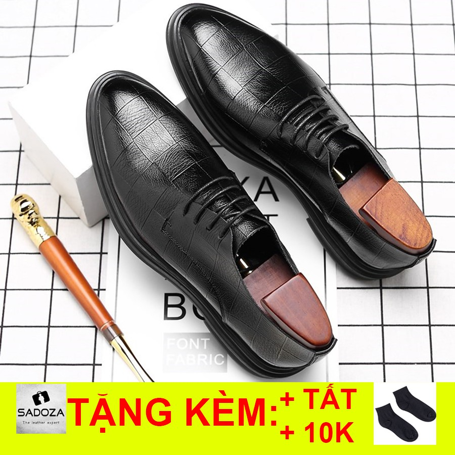 Giày Da Nam - FREESHIP - Giày Tây Nam Cao Cấp Đẳng Cấp GD90