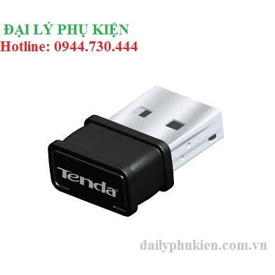 USB thu WIFI cho máy tính bàn Tenda W311MI