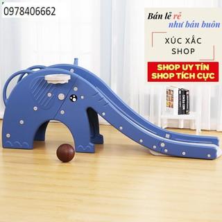 Cầu trượt voi xanhcao cấp mã EU-033