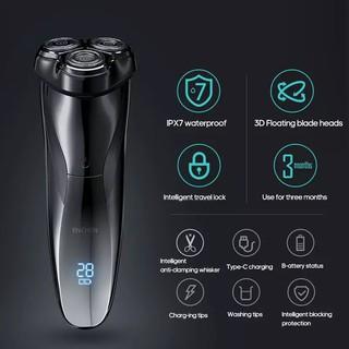 XIAOMI ENCHEN BLACKSTONE 3 PRO ,kháng nước IPX7 sạc 2h dùng pin 3 tháng, máy cạo râu xiaomi chính hãng