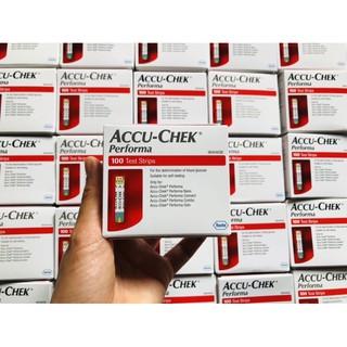 Que thử tiểu đường Accu-Check Pẻoma-1hộp 100que